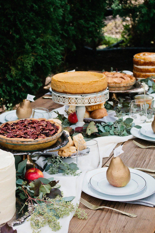 Fancy Thanksgiving Desserts  An Elegant Thanksgiving Table Dessert Buffet The