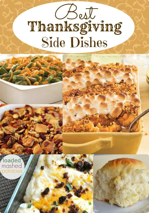 Favorite Thanksgiving Side Dishes  Best Thanksgiving Side Dishes Classic Recipes You ll Love