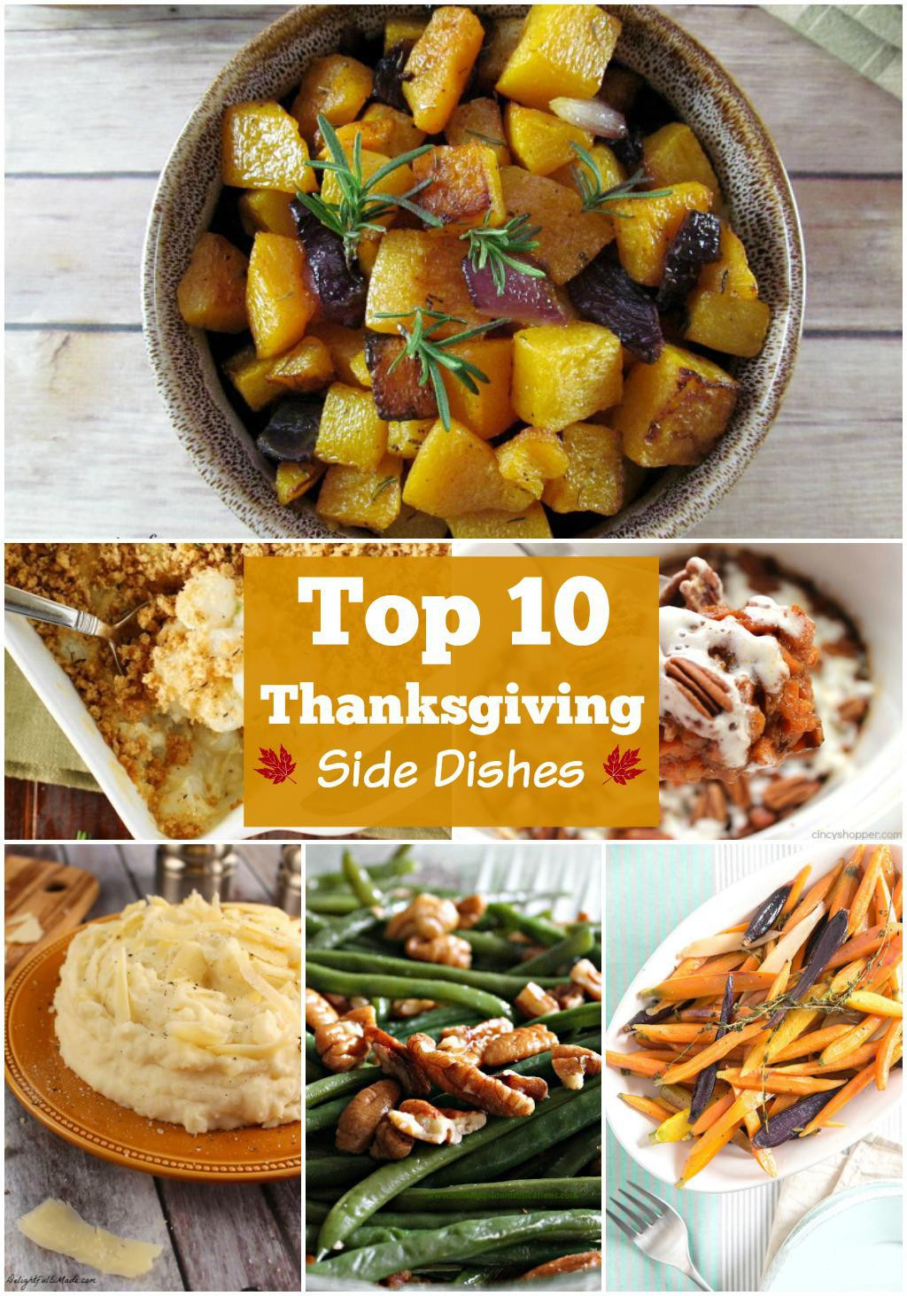 Favorite Thanksgiving Side Dishes  10 BEST Thanksgiving Side Dishes