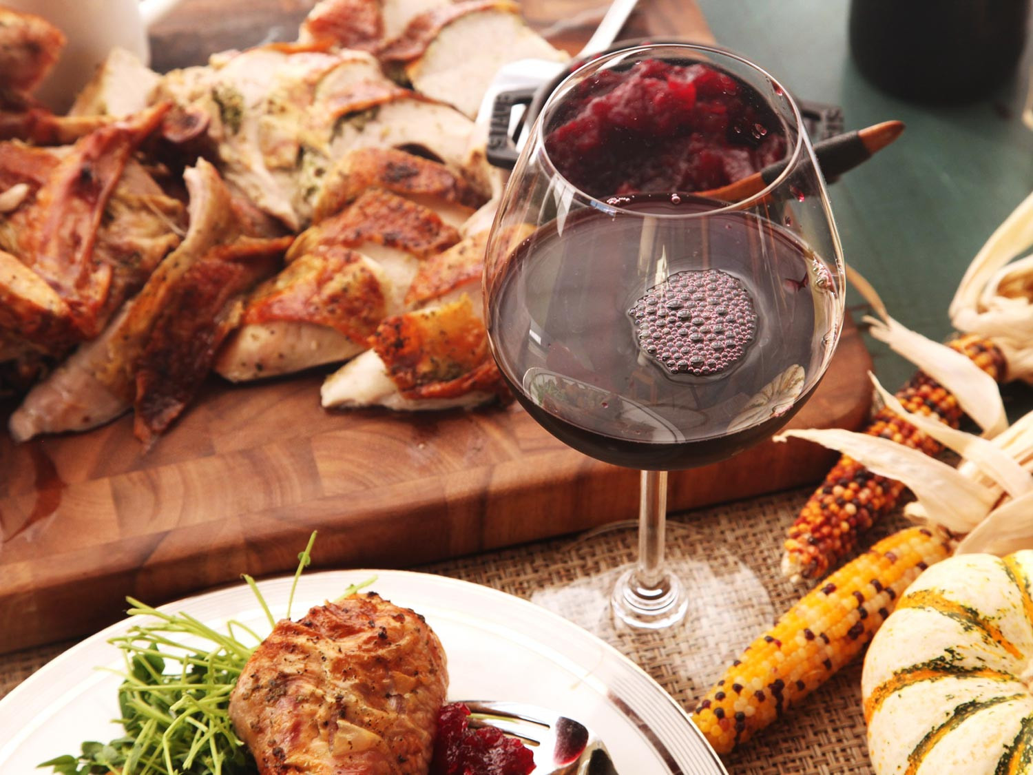 Festival Foods Thanksgiving Dinners  Thanksgiving Wine Made Easy A Sommelier s Advice
