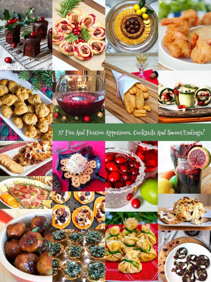 Festive Christmas Appetizers  37 Fun & Festive Holiday Party Appetizers