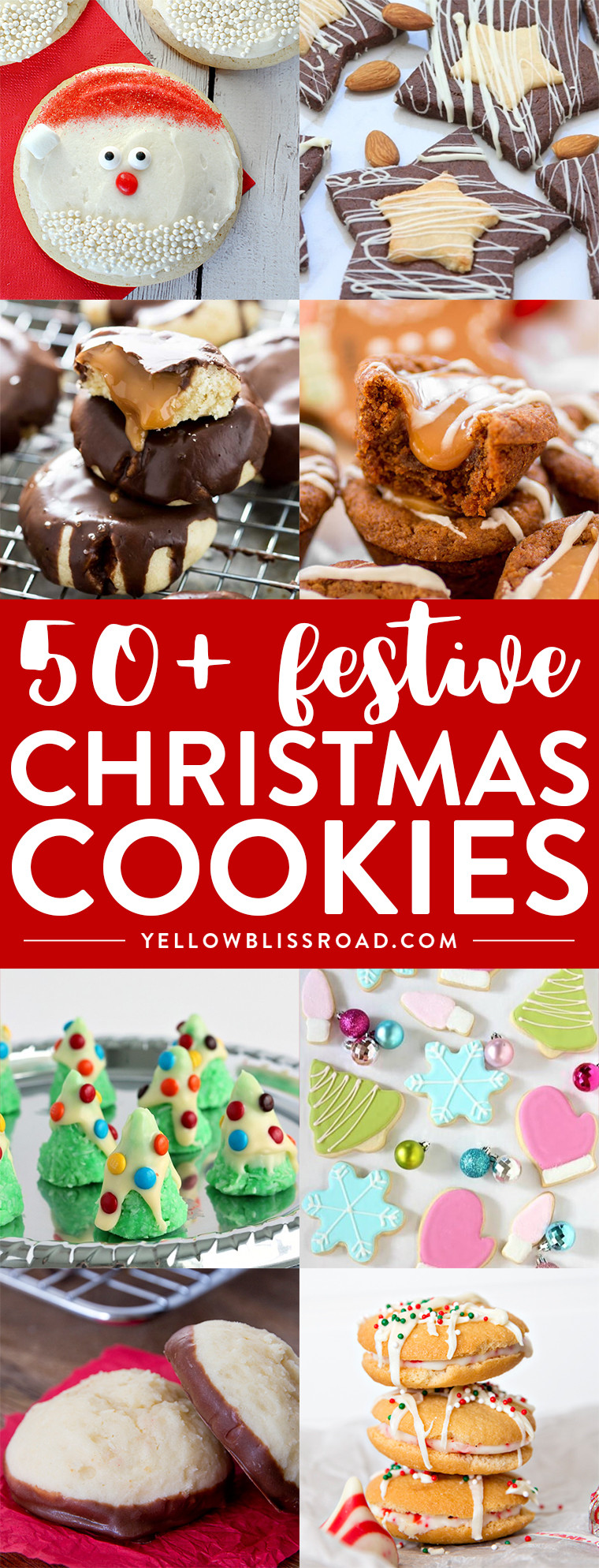 Festive Christmas Cookies  50 Festive Christmas Cookie Recipes