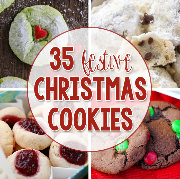 Festive Christmas Cookies  Peppermint Oreo Sugar Cookies