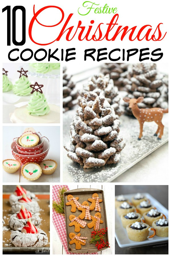 Festive Christmas Cookies  10 Festive Christmas Cookie Recipes
