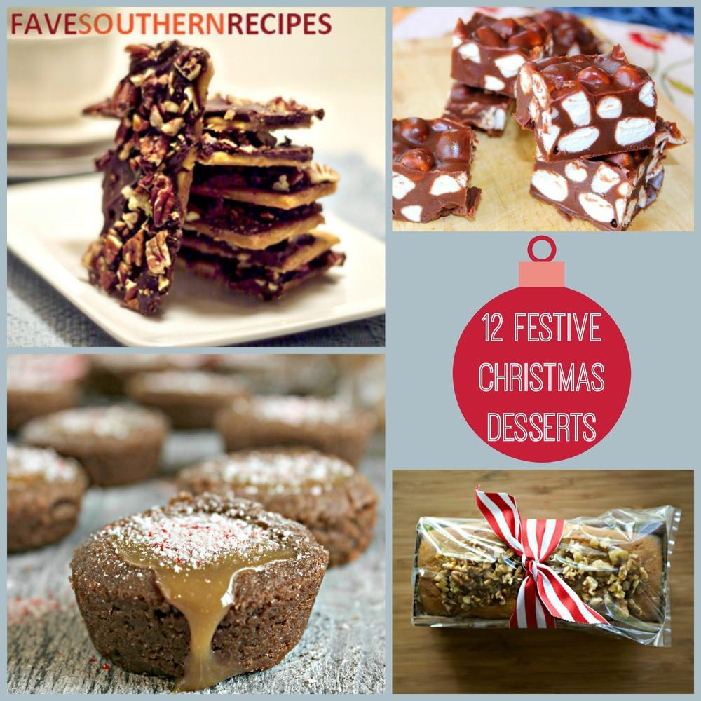 Festive Christmas Desserts  12 Festive Christmas Dessert Recipes