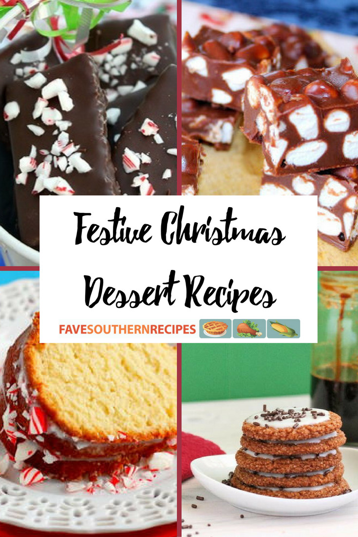 Festive Christmas Desserts  20 Festive Christmas Dessert Recipes