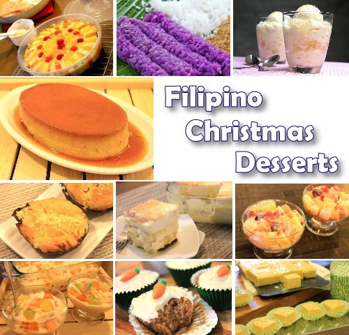 Filipino Christmas Desserts  Filipino Christmas Desserts Filipino Recipes Portal