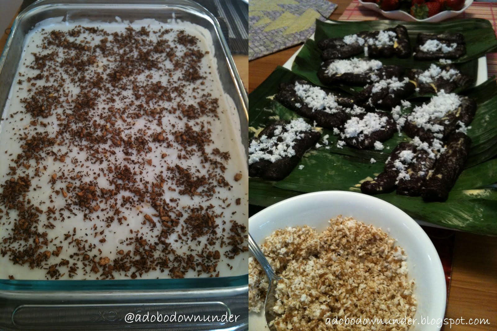 Filipino Christmas Desserts  adobo down under Christmas in July Filipino style