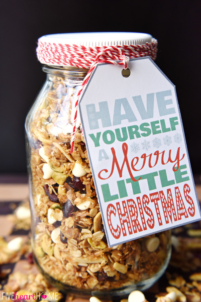 Food Christmas Gifts  22 Mason Jar Christmas Food Gifts – Recipes for Gifts in a