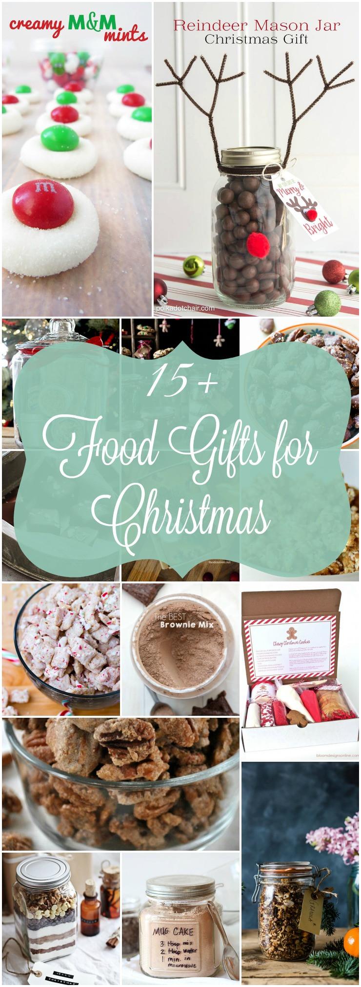 Food Christmas Gifts  Homemade Food Gifts for Christmas
