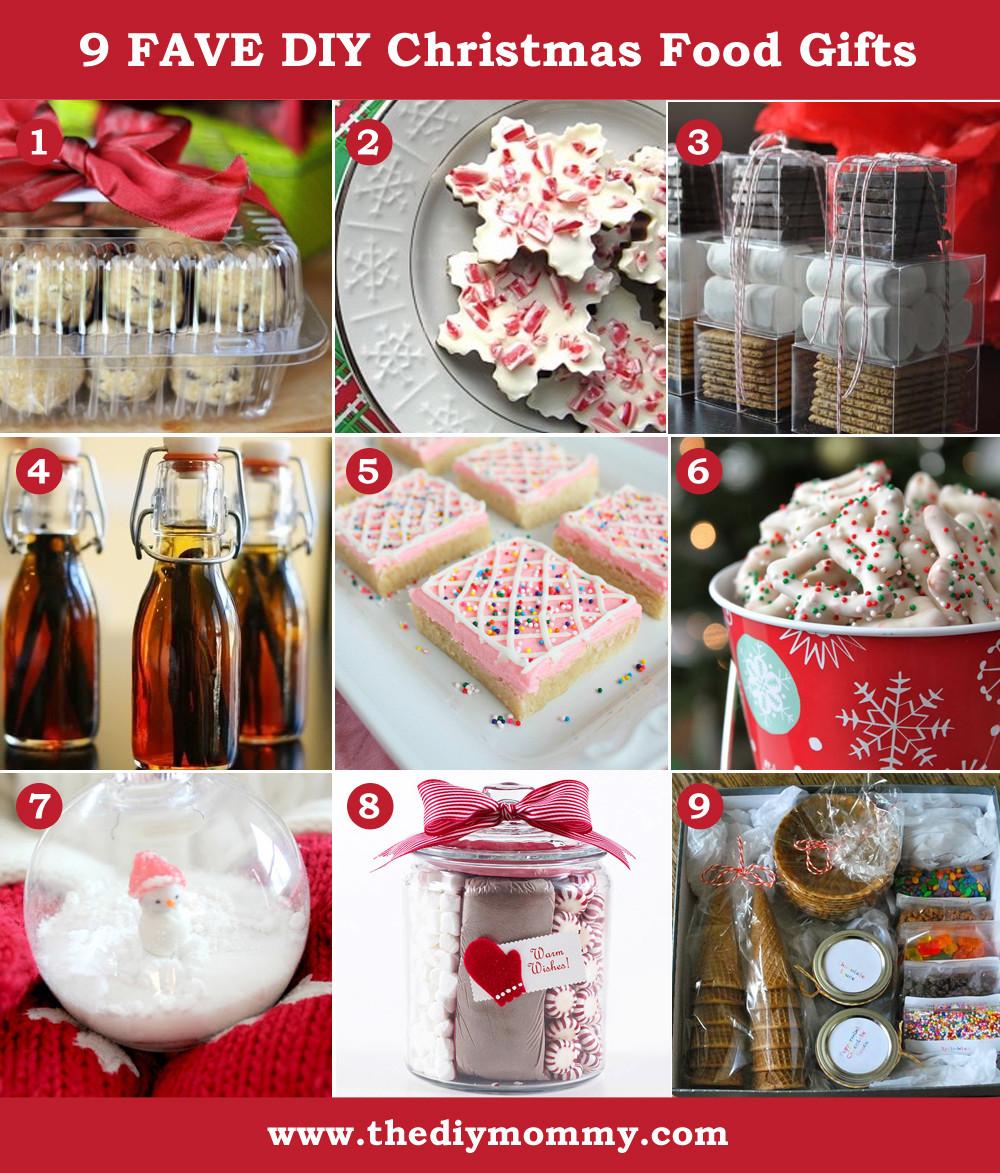 Food Christmas Gifts  A Handmade Christmas DIY Food Gifts