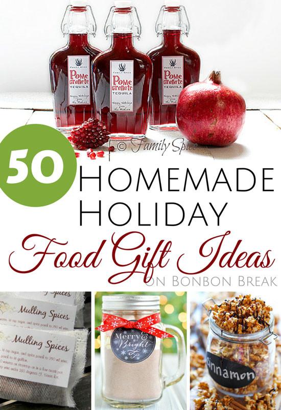 Food Gifts Christmas  50 Homemade Holiday Food Gift Ideas — BonBon Break