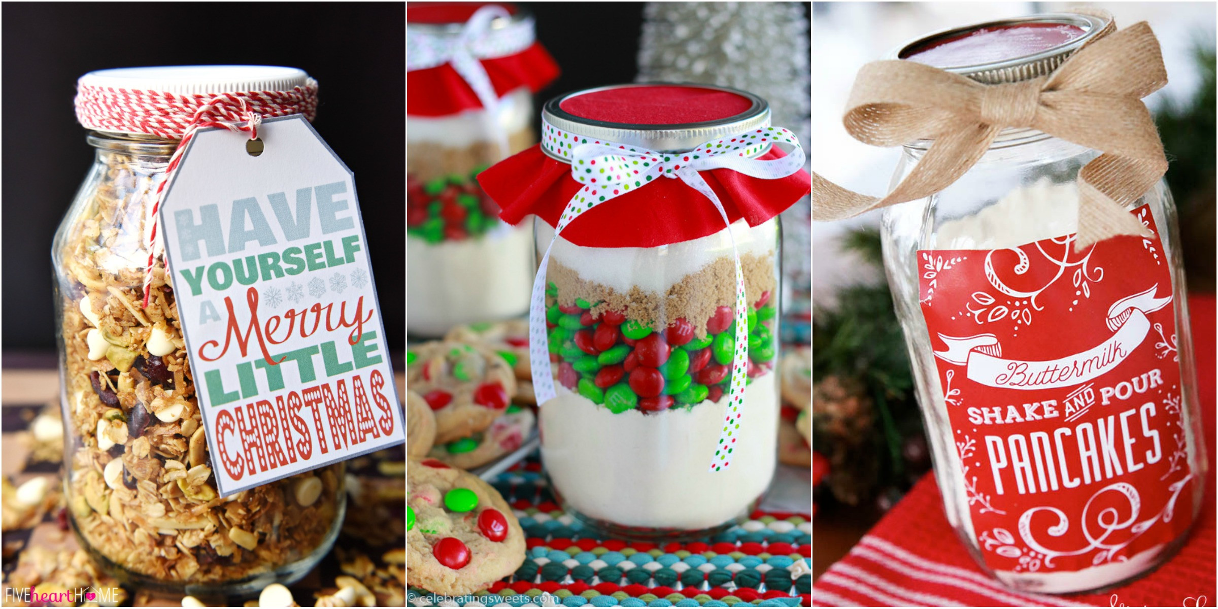 Food Gifts Christmas  34 Mason Jar Christmas Food Gifts – Recipes for Gifts in a