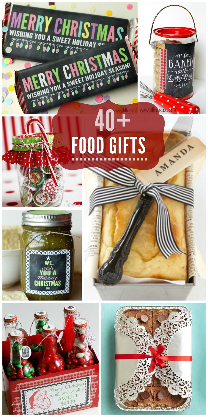 Food Gifts Christmas  Food Gift Ideas