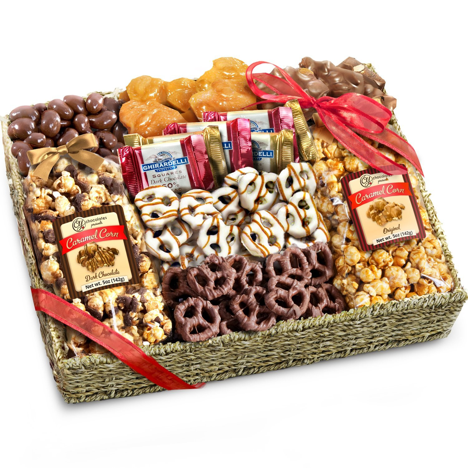 Food Gifts For Christmas To Be Delivered  Cookie Gift Boxes & Baskets Best Holiday Treats Snacks