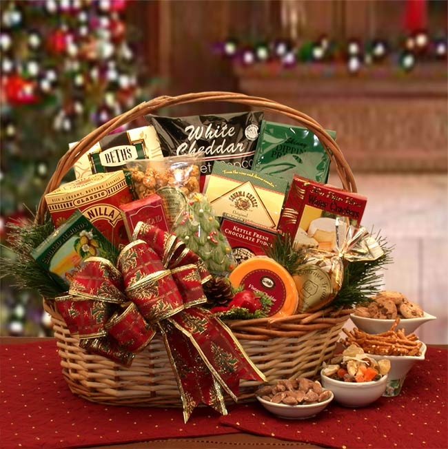 Food Gifts For Christmas To Be Delivered  Christmas Gift Baskets Christmas Gift Packages