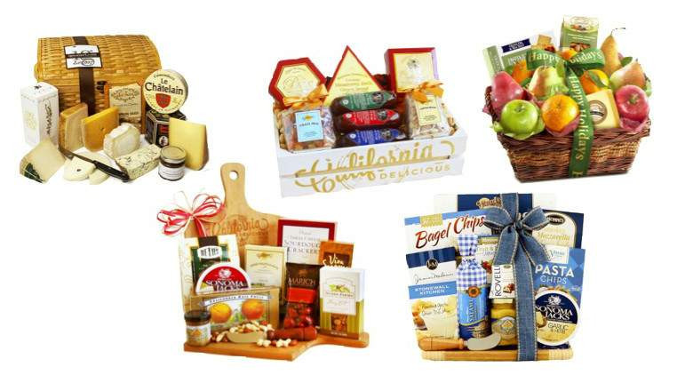 Food Gifts For Christmas To Be Delivered  Top 20 Best Cheese Gift Baskets