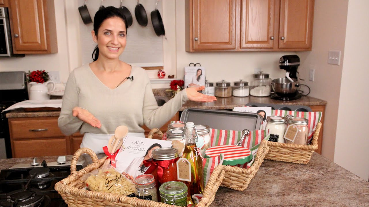 Food Gifts For Christmas To Be Delivered  3 DIY Food Gift Baskets Edible Gifts