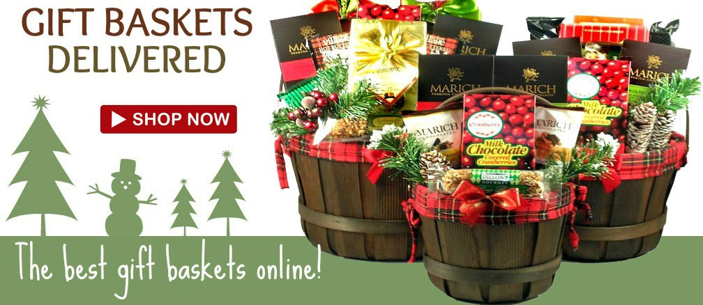 Food Gifts For Christmas To Be Delivered  Holiday Food Baskets Ship Free Holiday Gift Baskets