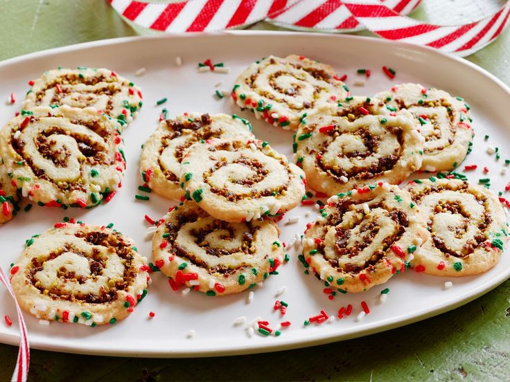 Food Network Christmas Cookies  123 best images about Cookie Spirals and Pinwheels on