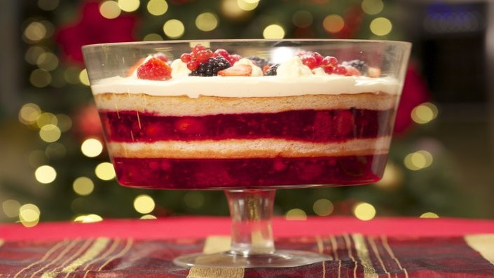 Food Network Christmas Desserts  Christmas Trifle Recipes