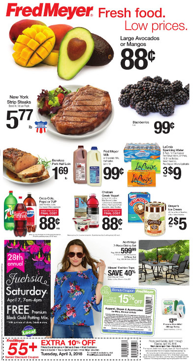 Fred Meyer Thanksgiving Dinner  Fred Meyer Weekly Coupon Deals 4 1 – 4 10 Lots of Grocery