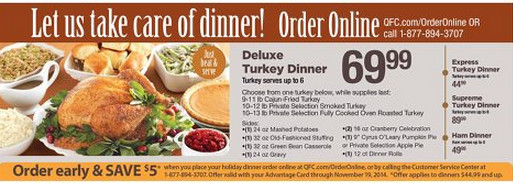 Fred Meyer Thanksgiving Dinner  Best Turkey Price Roundup – as of 11 19 includes Organic