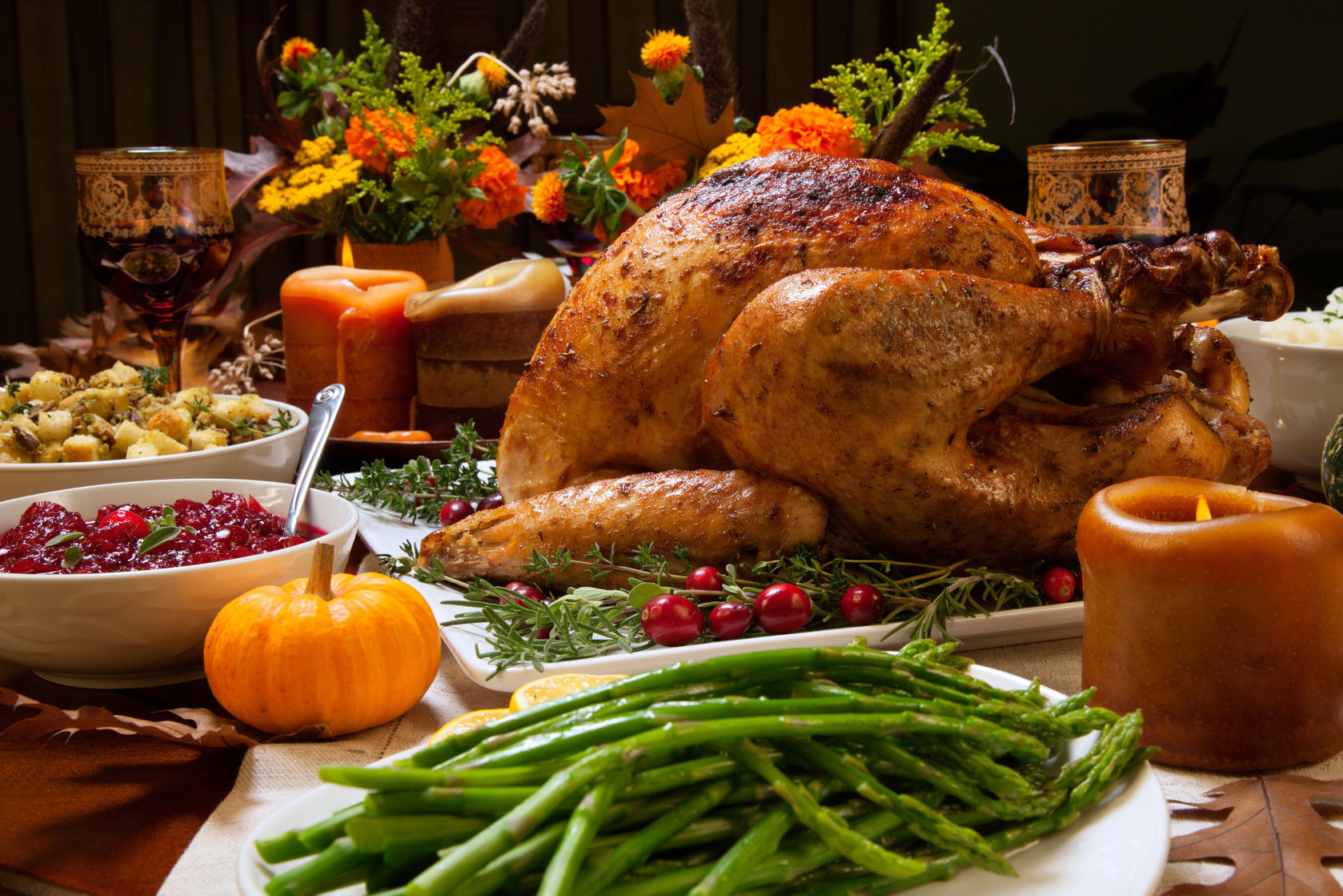 Free Thanksgiving Dinner 2019  Festive Thanksgiving Tablescape Ideas Brock Built