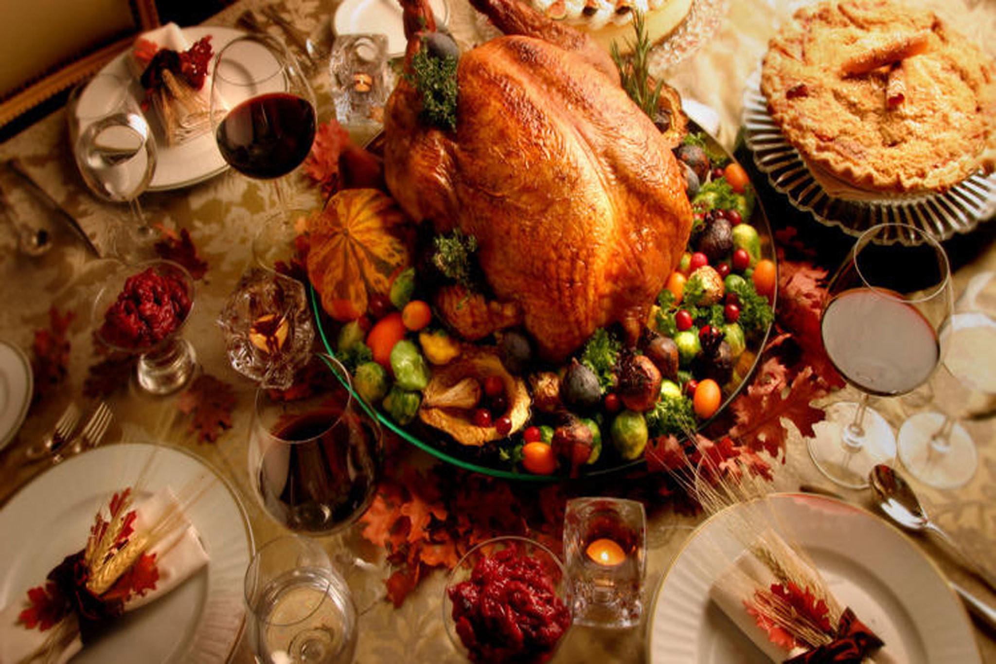 Free Thanksgiving Dinner 2019  Best restaurants for Thanksgiving dinner in Los Angeles