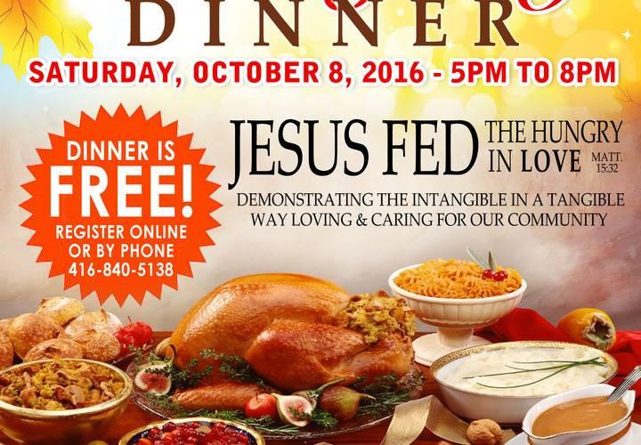 Free Thanksgiving Dinner 2019  FREE PRAYER BREAKFAST & FREE MUNITY THANKSGIVING DINNER