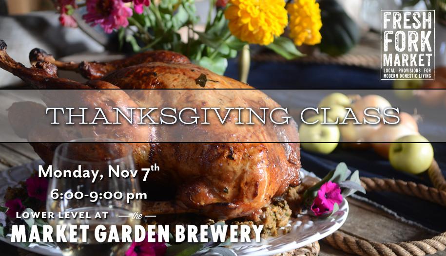 Fresh Market Thanksgiving Dinner  2016 Thanksgiving Beer Pairing Dinner – Fresh Fork Market