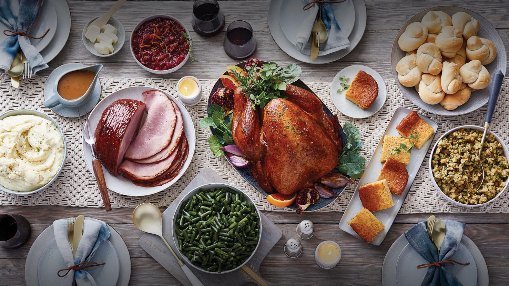 Fresh Market Thanksgiving Dinner  Holiday line Ordering The Fresh Market