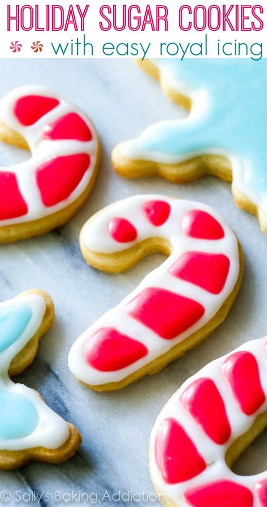 Frosting For Christmas Cookies  Christmas Sugar Cookies with Easy Icing