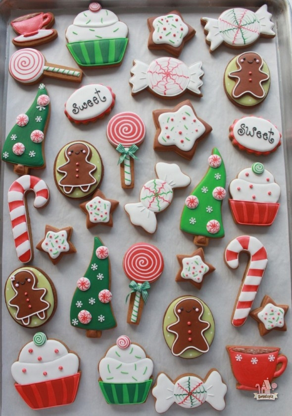 Frosting For Christmas Cutout Cookies  How to Color Icing Red