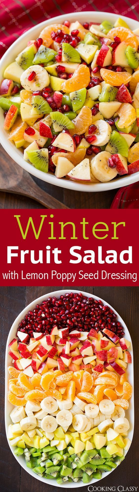 Fruit Salads For Thanksgiving Dinner  Best 25 Fruit salad ideas on Pinterest