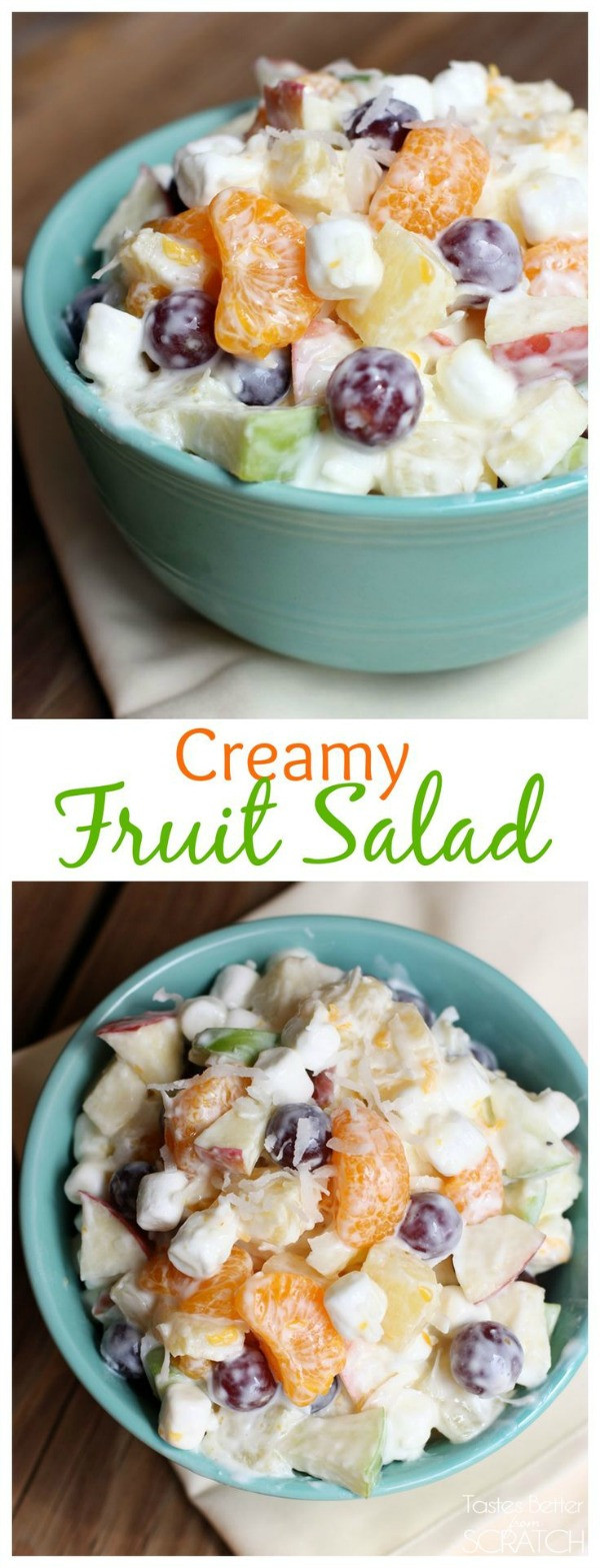 Fruit Salads For Thanksgiving Dinners  Thanksgiving Recipes · Cozy Little House