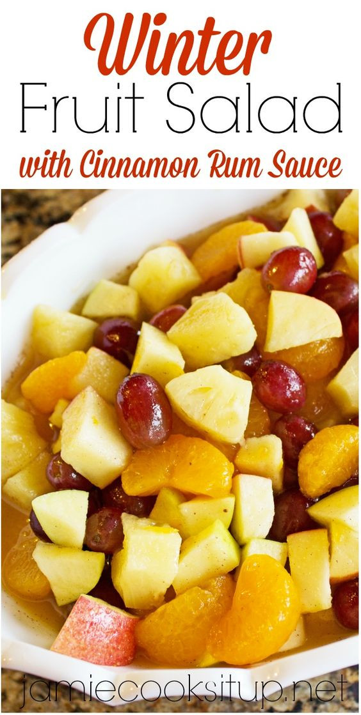Fruit Salads For Thanksgiving Dinners  Pinterest • The world's catalog of ideas