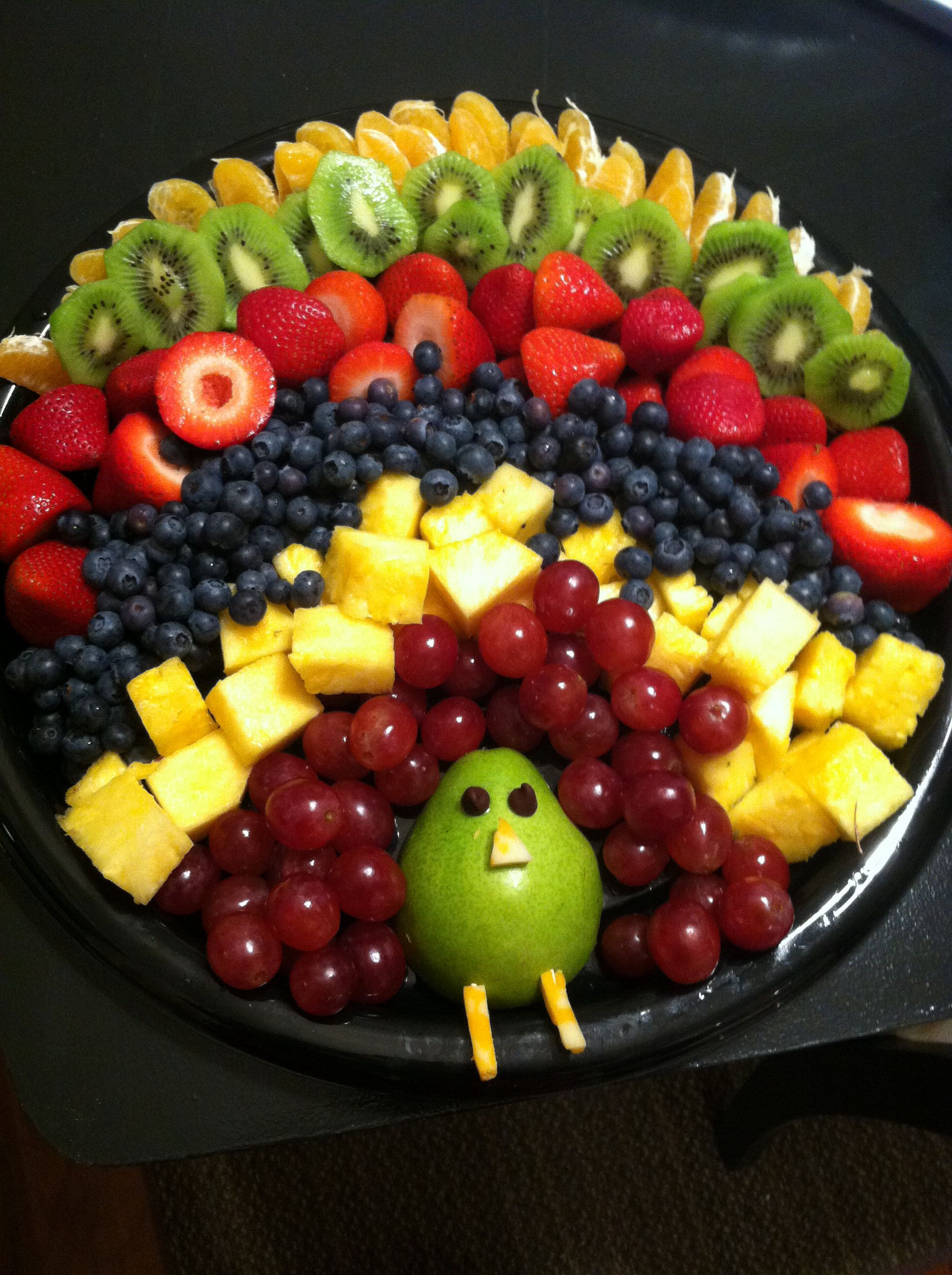 Fruit Salads For Thanksgiving Dinners  Fruit tray for thanksgiving morning
