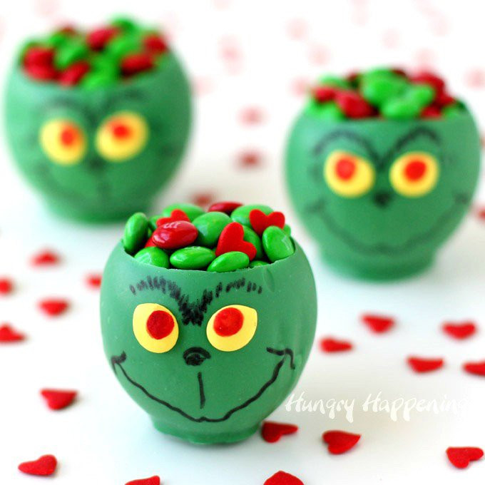 Fun Christmas Candy  Grinch Candy Cups Fun Christmas Candy and Crafts