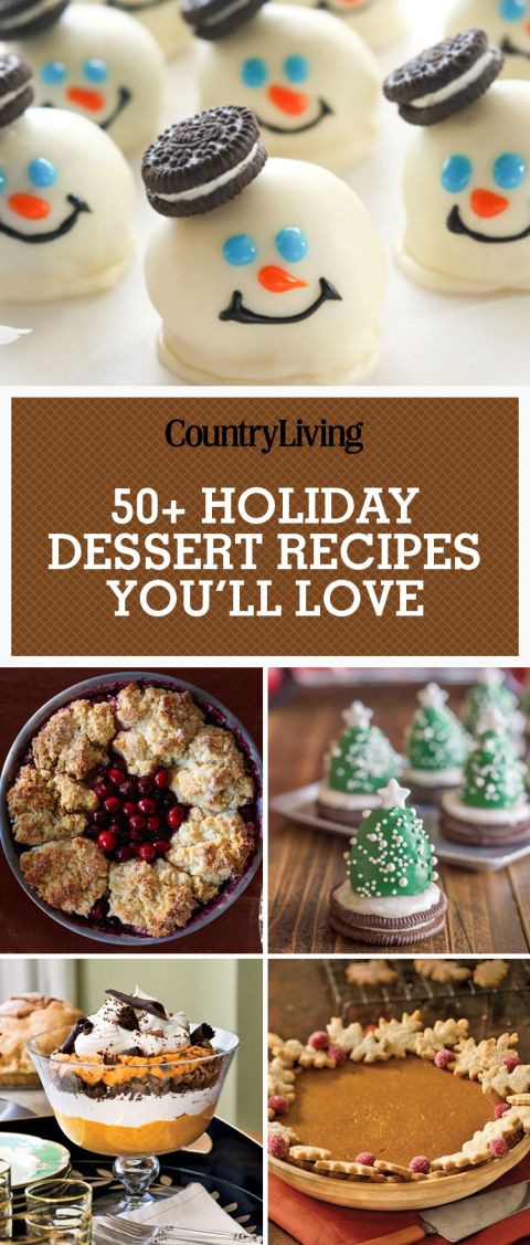 Fun Christmas Desserts Recipes  Best 20 Fun holiday desserts ideas on Pinterest