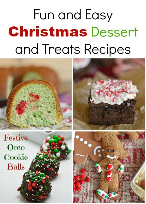 Fun Christmas Desserts Recipes  Five Fun Christmas Dessert Recipes