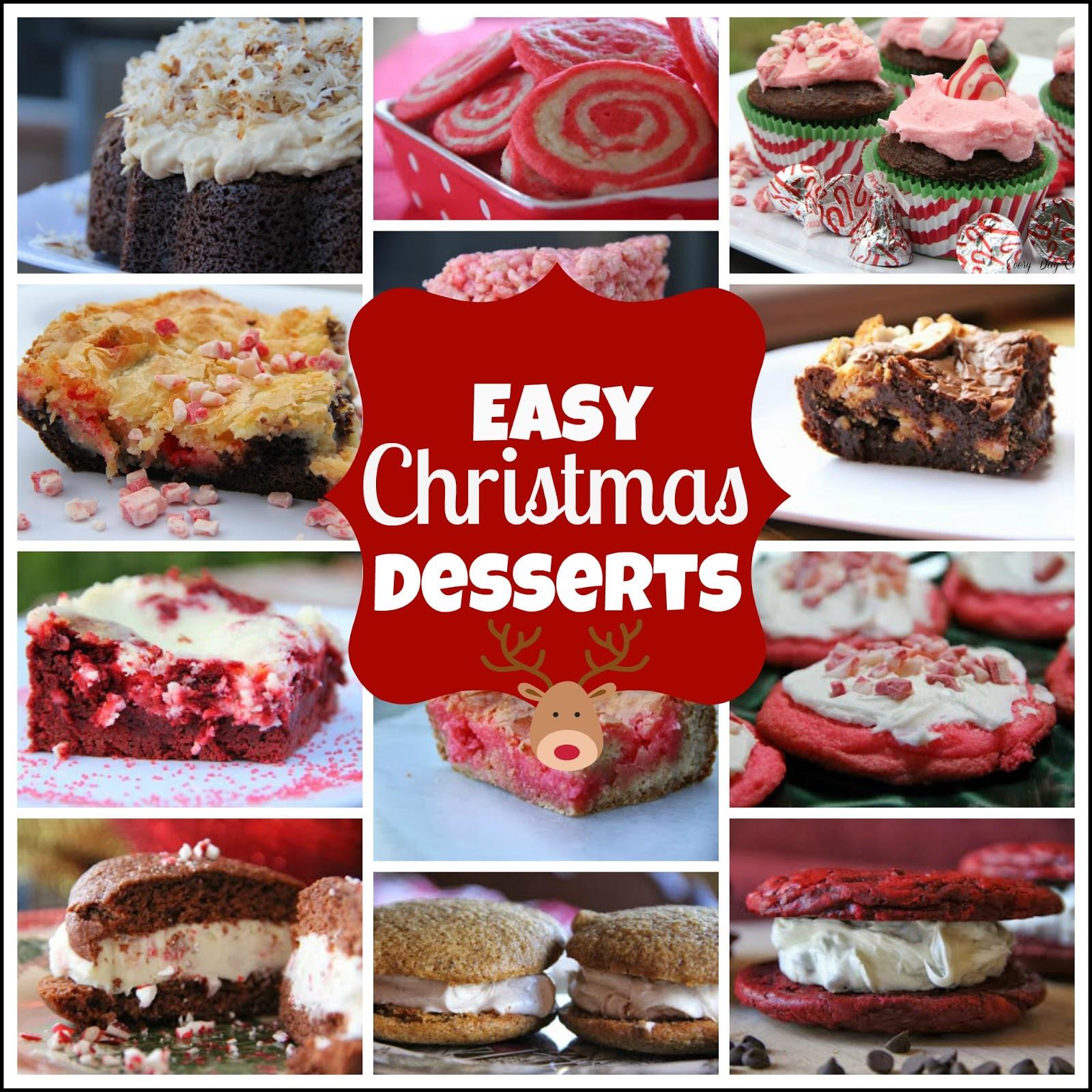 Fun Easy Christmas Desserts  Easy Christmas Desserts