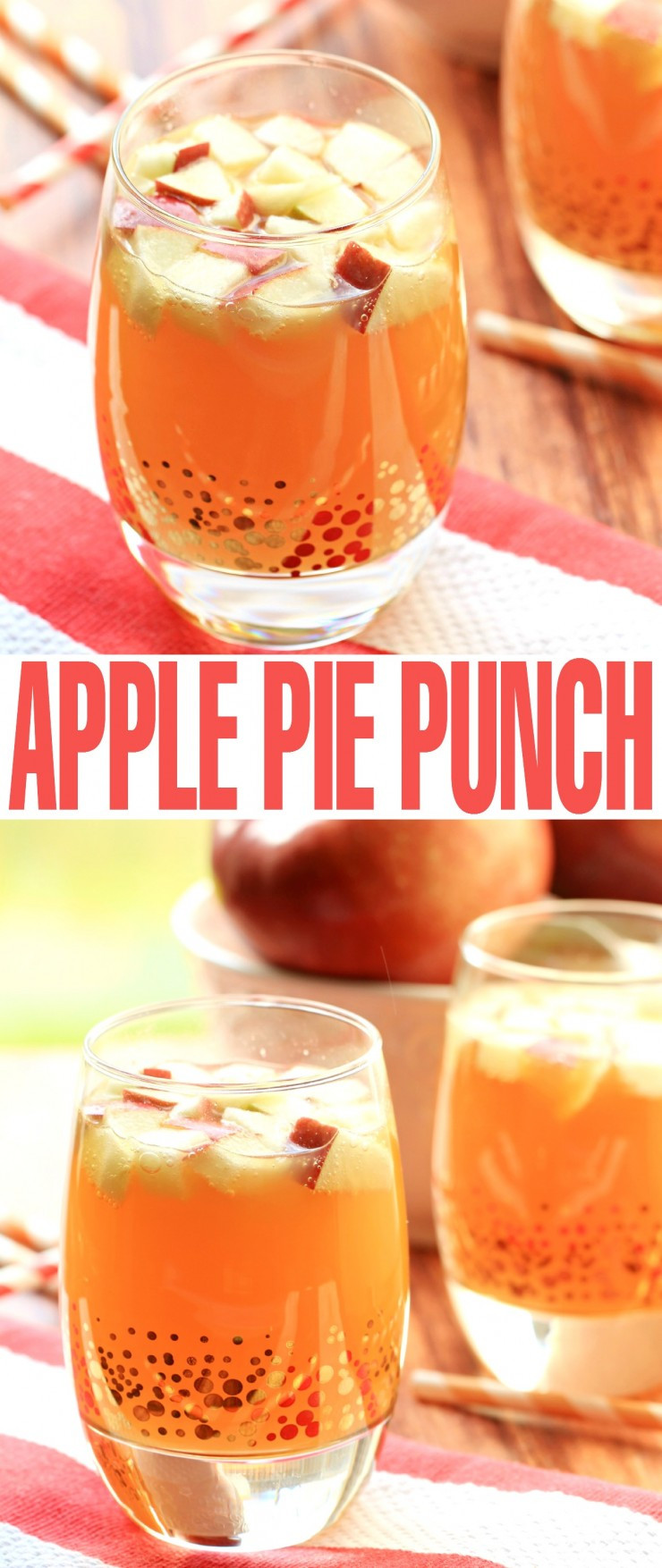 Fun Thanksgiving Drinks  Non Alcoholic Apple Pie Punch Frugal Mom Eh