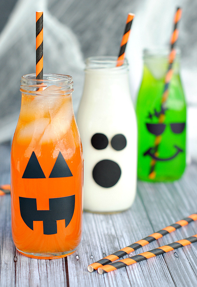 Funny Halloween Drinks  Halloween Drinks for Kids Crazy Little Projects