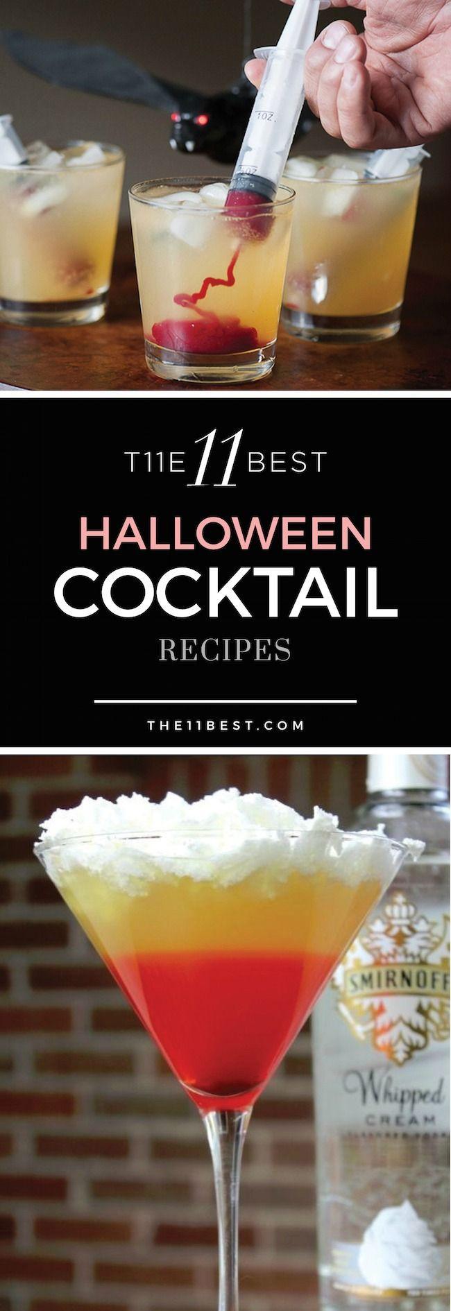 Funny Halloween Drinks  Best 25 Halloween cocktails ideas on Pinterest