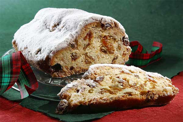German Christmas Bread  Borealkitchen Breakfast Stollen Borealkitchen variation