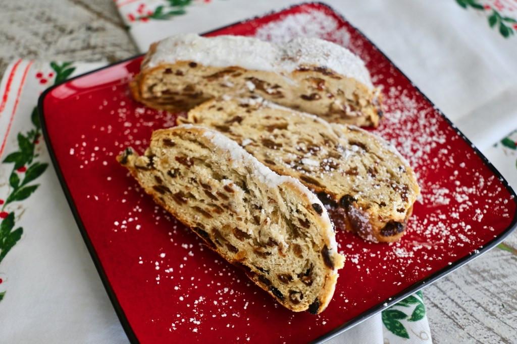 German Christmas Bread  Christmas Stollen Traditional German Holiday Bread La