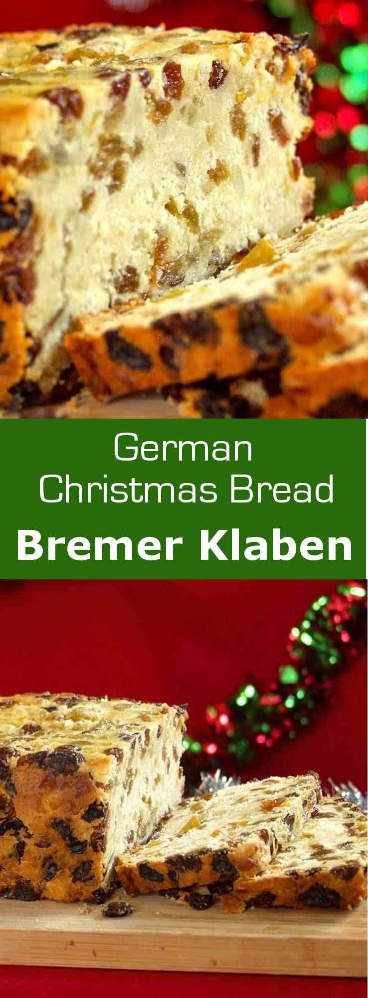 German Christmas Bread  Bremer Klaben Traditional German Recipe