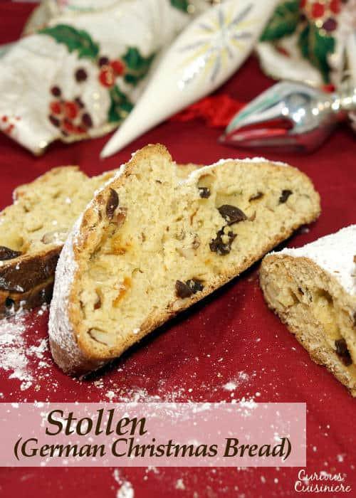 German Christmas Bread  Stollen German Christmas Bread • Curious Cuisiniere