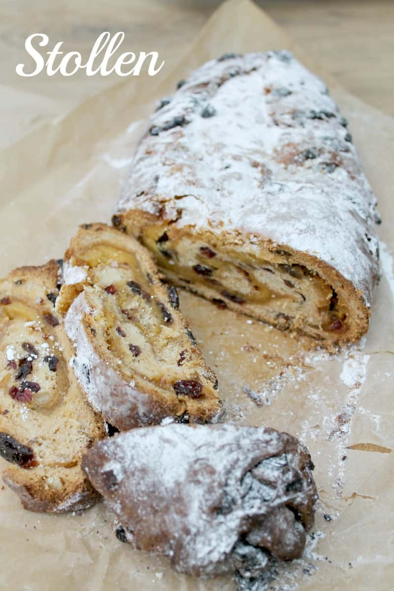 German Christmas Bread Stollen Recipe  Christmas Stollen BakingQueen74